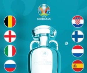 """""""اليوفا"""" يعلن تصنيف المنتخبات الأوربية ليورو 2020 ..وتراجع فرنسا بطلة العالم للمرتبة الثانية"""