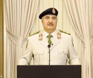 """""""لن نترك ليبيا فريسة للاستعمار التركي البغيض"""".. تصريحات حفتر تهز أنقرة"""
