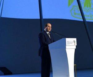 السيسي في مؤتمر أفريقيا 2019: مصر تسعى لتحقيق التكامل بين دول القارة