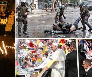 جولة في صحف العالم.. الحد الأدنى للأجور يشعل الاشتباكات بين المحتجين والشرطة في كولومبيا