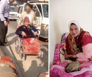 التدخل السريع ينقذ سيدة ذوي إعاقة بلا مأوى تفترش الرصيف