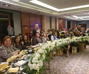الاجتماع الأول لمندوبات المنطقة 95 لأندية اينرويل مصر والأردن (صور)