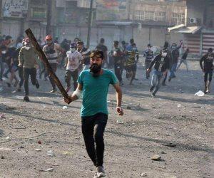 وحرق مقر الوقف الشيعي.. 23 شخصا ضحايا اشتباكات جنوبي العراق