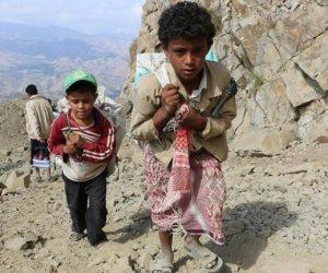 «إحصاءات مؤلمة».. أطفال اليمن يدفعون ثمن حرب ميليشيات الحوثيين