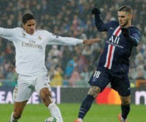 الريال ضد باريس سان جيرمان.. كريم بنزيما يحرز الهدف الأول للملكى