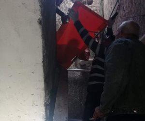 أطفال بلا مأوى تستحيب لبلاغ أهالي إسكندرية لإنقاذ رجل مسن