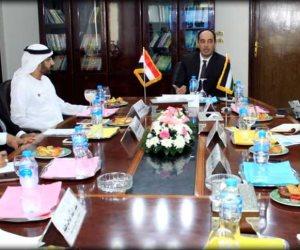 شرطة دبي تطلع على تجربة مصر في مواجهة الإدمان