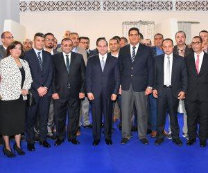 الرئيس يشهد افتتاح فندق اللسان برأس البر وإسكان دار مصر بمدينة دمياط الجديدة