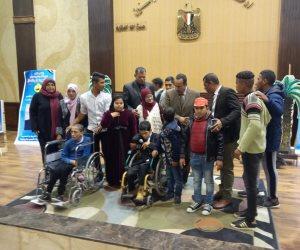 تفاصيل احتفال شمال سيناء باليوم العالمي للمعاق بمدينة العريش (صور)