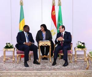 السيسي: نتطلع لتعظيم التعاون مع السنغال فى مجال مكافحة الفكر المتطرف