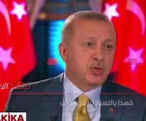 أردوغان يعلن احتلال ليبيا على الملأ.. ومعارض تركي: الدكتاتور يريد تقسيمها لدويلات (فيديو)