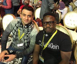 ناشط نيجيري في مجال التغيرات المناخية: جئت لمنتدى شرم الشيخ لعرض مشاكل إفريقيا بالظواهر الطبيعية