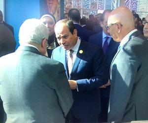 السيسى يلتقي «أبو مازن».. ويؤكد ثبات الموقف المصري من القضية الفلسطينية