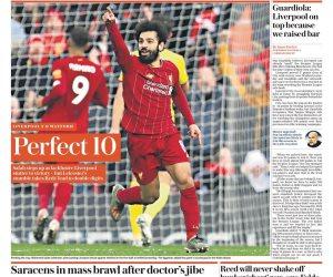 «كعب» محمد صلاح حديث صحف العالم: «ملك أنفيلد» يمنح جماهير ليفربول فرحة النصر