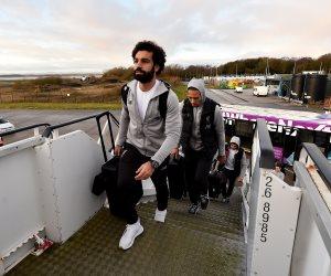 محمد صلاح يطير إلى قطر مع ليفربول للمشاركة في مونديال الأندية (صور)