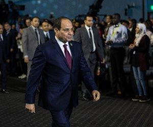 """حساب الرئيس السيسى على تويتر ينشر جانبا من كلمته بجلسة """"الذكاء الاصطناعى"""""""