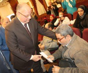 محافظ القاهرة: منح مالية و200 كرسي متحرك ودراجات بخارية لذوي الاحتياجات الخاصة خلال 2019