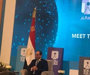 السيسى عن المصالحة مع قطر: الآخر لم يتغير.. وما يحدث ضد مصر  تآمر وليس مهنية