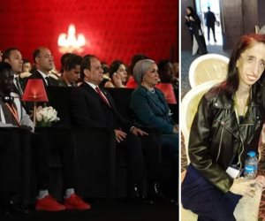 رسالة للإنسانية بمنتدى شباب العالم.. أشهر ضحايا التنمر بجوار الرئيس السيسي
