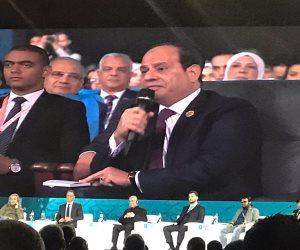 السيسى: الحكومة تنتقل للعاصمة الإدارية الجديدة لتقليل أخطاء العامل البشرى