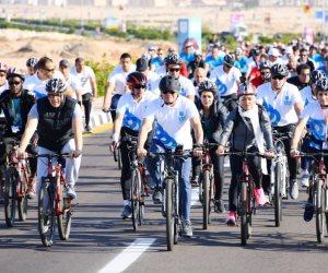 الرئيس السيسى يشارك شباب العالم فى ماراثون السلام بشرم الشيخ