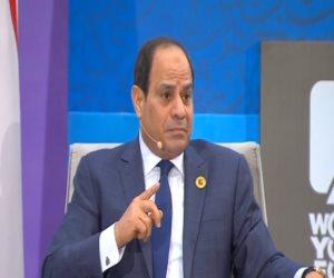 منتدى شباب العالم.. الرئيس السيسي: الإرهاب يحاول تعطيل مصر عن التحرك إلى الأمام