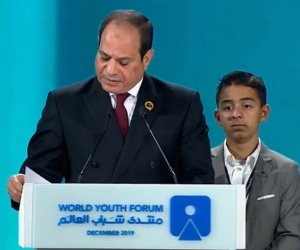 الرئيس السيسى يعلن خطة لتعزيز السلام عالميا وتنمية أفريقيا ودول المتوسط