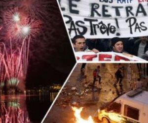 جولة في صحف العالم.. استمرار إضراب النقابات العمالية فى فرنسا