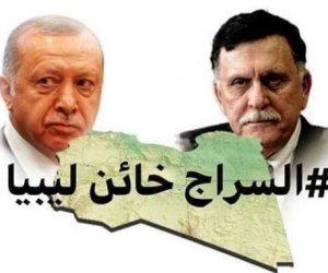 «اللا شرعية» تفتح الأجواء لتركيا.. والسراج يتسول الدعم من الدوحة وأنقرة برحلات مكوكية