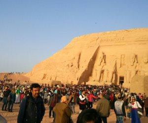 «ظاهرة فلكية نادرة».. الشمس تتعامد على معبد قصر قارون في الفيوم