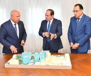 الرئيس السيسي يجتمع بـ «مدبولي» وكامل الوزير لاستعراض الموقف التنفيذي لمشروعات «النقل»