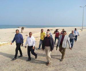"""بإجمالي 255 مليون ..""""شوشة"""" يتابع تنفيذ مشروعات الخطة الاستثمارية بشمال سيناء ( صور وفيديو )"""