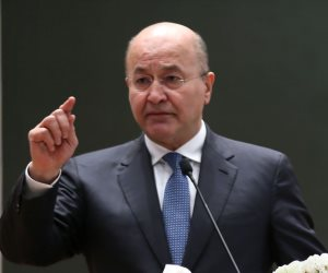 الزرفي يعتذر عن الحكومة العراقية..وبرهم يكلف رئيس المخابرات بتشكيل مجلس الوزراء