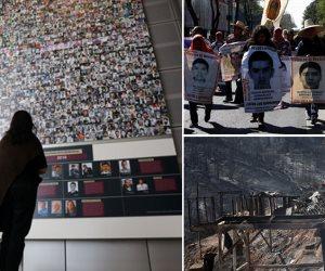 جولة حول العالم.. حريق في تشيلي واحتجاجات المكسيك تتصاعد