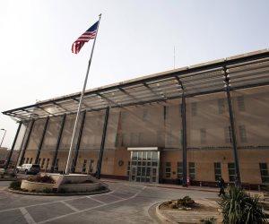 استهداف السفارة الأمريكية وسط بغداد بصواريخ كاتيوشا