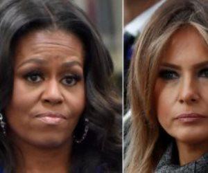فازت بجائزة المرأة الأولى للأمريكيين.. ميشيل أوباما تتفوق على ميلانيا ترامب