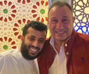 تركى آل الشيخ: محمود الخطيب تواصل معي للاطمئنان على صحتي