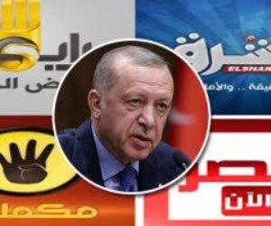 خونة كالعادة.. إعلام الإخوان يبرر للغزو التركي في ليبيا ويهاجم الموقف المصري