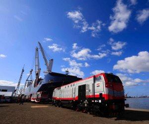 ميناء الإسكندرية يستقبل أولى دفعات عربات السكة الحديد المجرية الثلاثاء المقبل