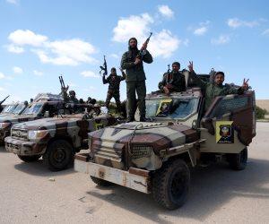 خريطة توزيع مراكز القوى في ليبيا.. الجيش الوطنى يفرض سيطرته على معظم المدن.. وميليشيا السراج تبحث عن موطئ قدم فى الغرب