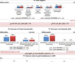 بالأرقام.. كيف سددت مصر الديون المحلية والخارجية؟ (إنفوجراف)