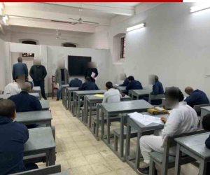 السجون تعقد لجان لامتحانات الترم الأول لنزلاء سجن ليمان طرة المُلحقين بالكليات والمعاهد