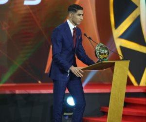 المغربي أشرف حكيمي أفضل لاعب صاعد في أفريقيا 2019