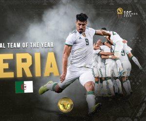 الأفضل في إفريقيا.. الجزائر أفضل منتخب في أفريقيا لعام 2019
