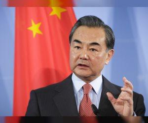 وزير خارجية الصين لرئيس تحرير الأهرام: المسار السياسى الطريق الوحيد لحل الأزمة الليبية.. ولغة القوة طريقها مسدود