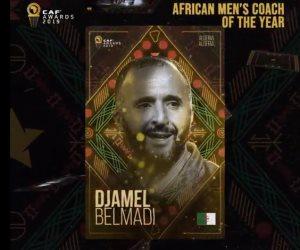الأفضل في إفريقيا.. الجزائري جمال بلماضي أفضل مدرب في أفريقيا لعام 2019