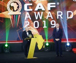 هاني أبو ريدة: سعيد بفوز اتحاد الكرة المصري بجائزة الأفضل داخل قارة إفريقيا عام 2019