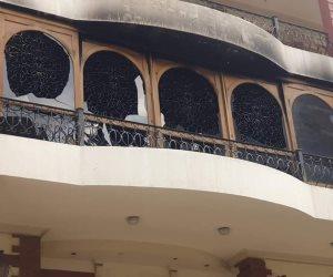 النيابة تكشف سبب حريق فيلا إيهاب توفيق