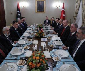 محاكمة الخونة.. عقوبات دولية تلاحق أطراف صفقة أردوغان والسراج لغزو ليبيا
