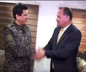 للحديث عن مجازر أردوغان.. قائد قوات سوريا الديمقراطية في استضافة نشأت الديهي على ten